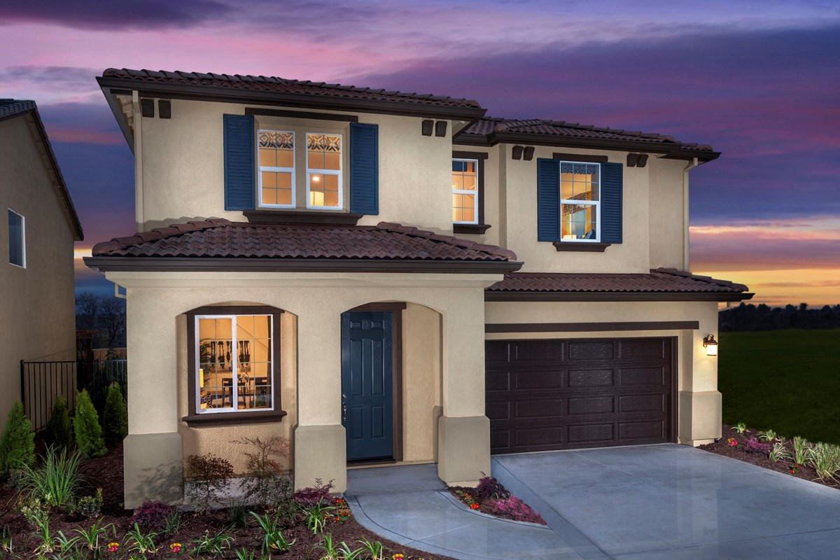 New Homes in Rocklin, CA - Granite Ridge Plan 4 - Italianate