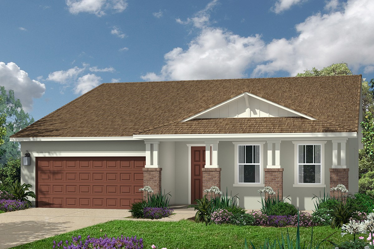 New Homes in Roseville, CA - Legato at WestPark The Marlow - Craftsman