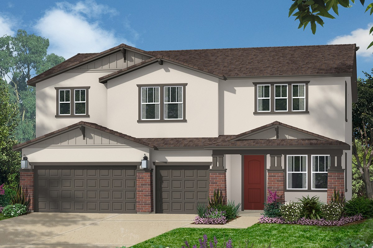 New Homes in Roseville, CA - Legato at WestPark The Kiran - Craftsman