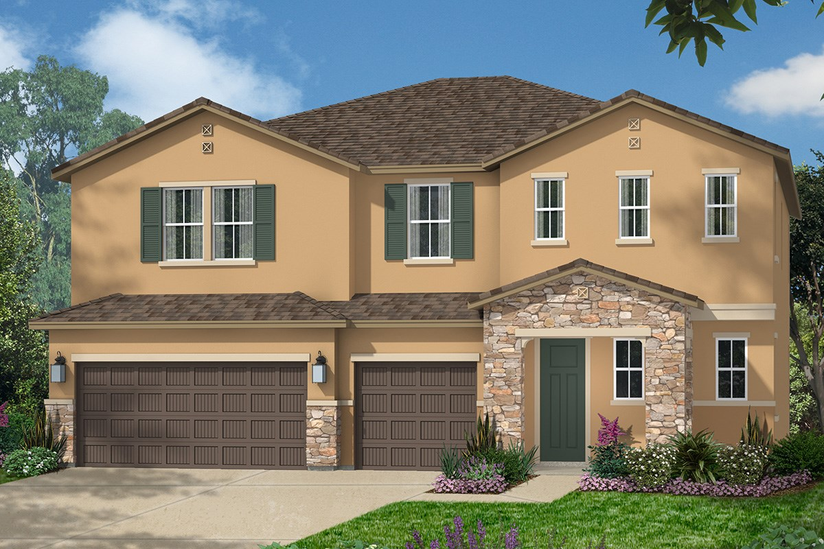 New Homes in Roseville, CA - Legato at WestPark The Kiran - Tuscan
