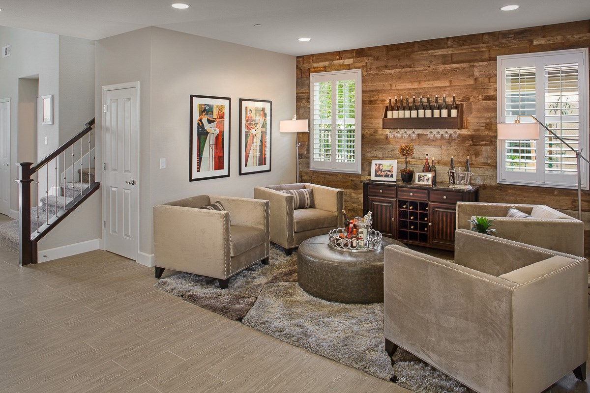 New Homes in Roseville, CA - Legato at WestPark Mullins Plan - Flex Space