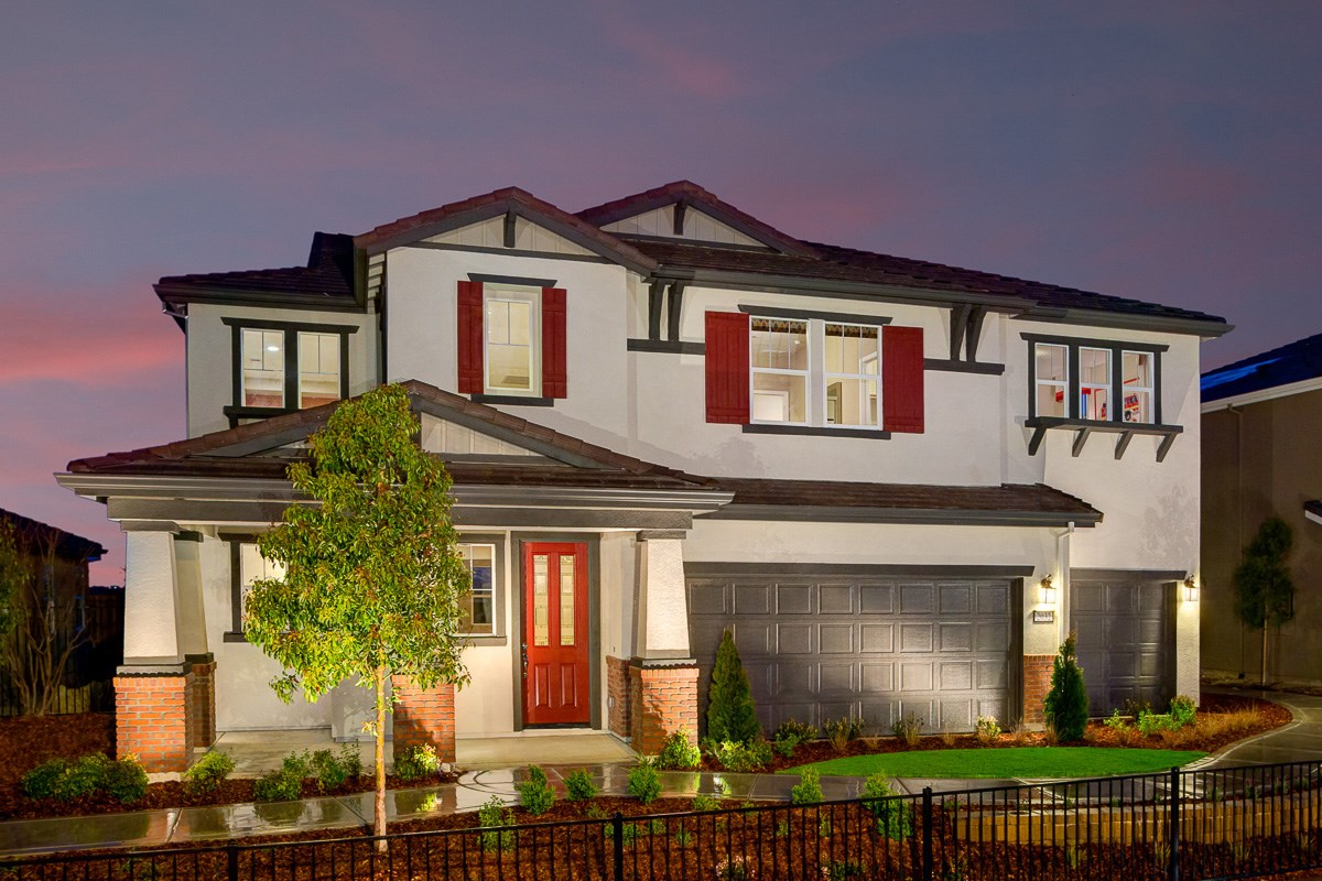 New Homes in Roseville, CA - Legato at WestPark Mullins Plan