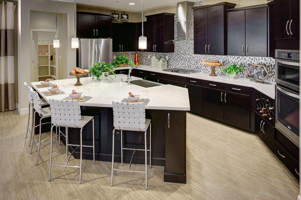 New Homes in Roseville, CA - Legato at WestPark Mullins Plan - Kitchen