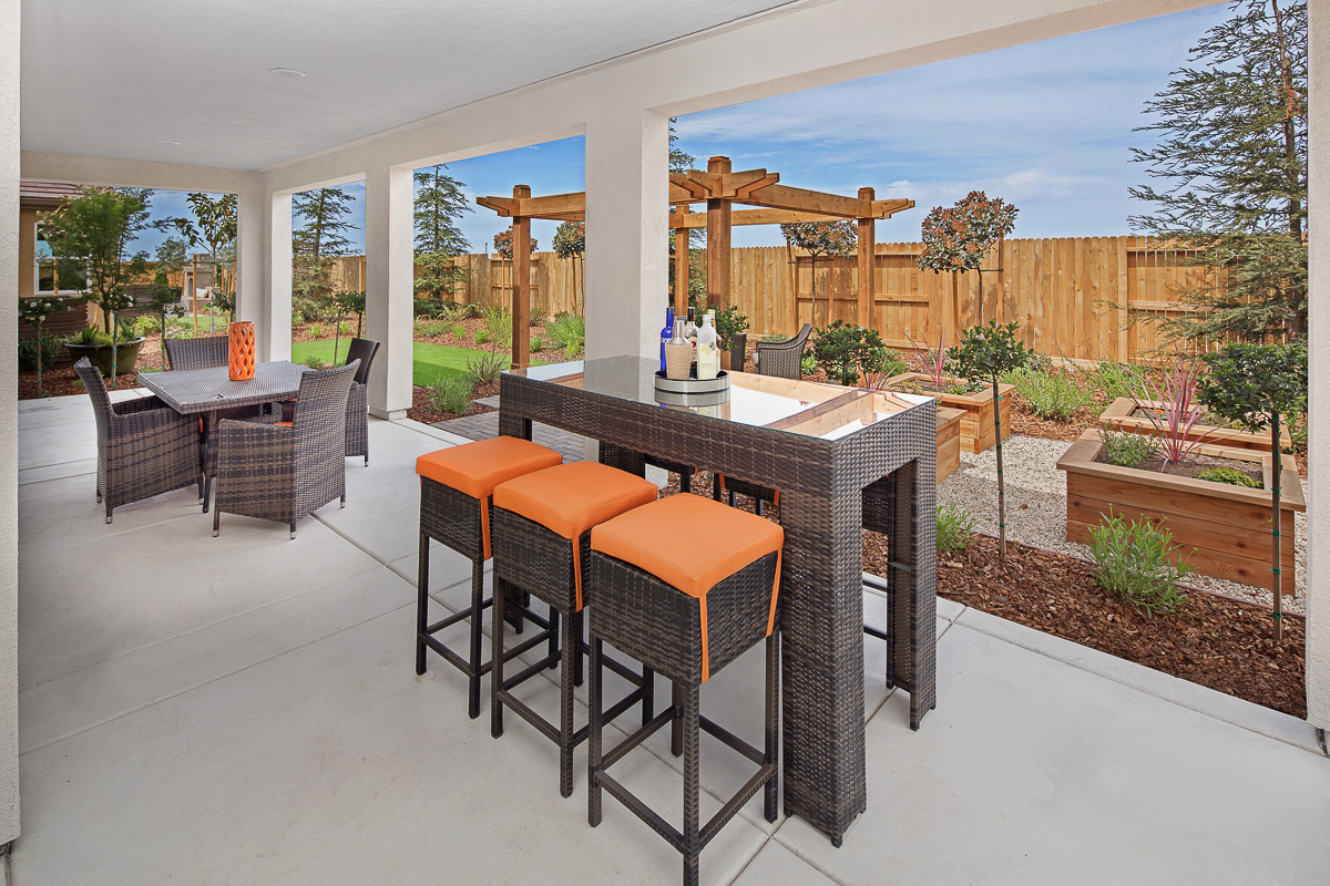 Mullins plan-Covered Patio