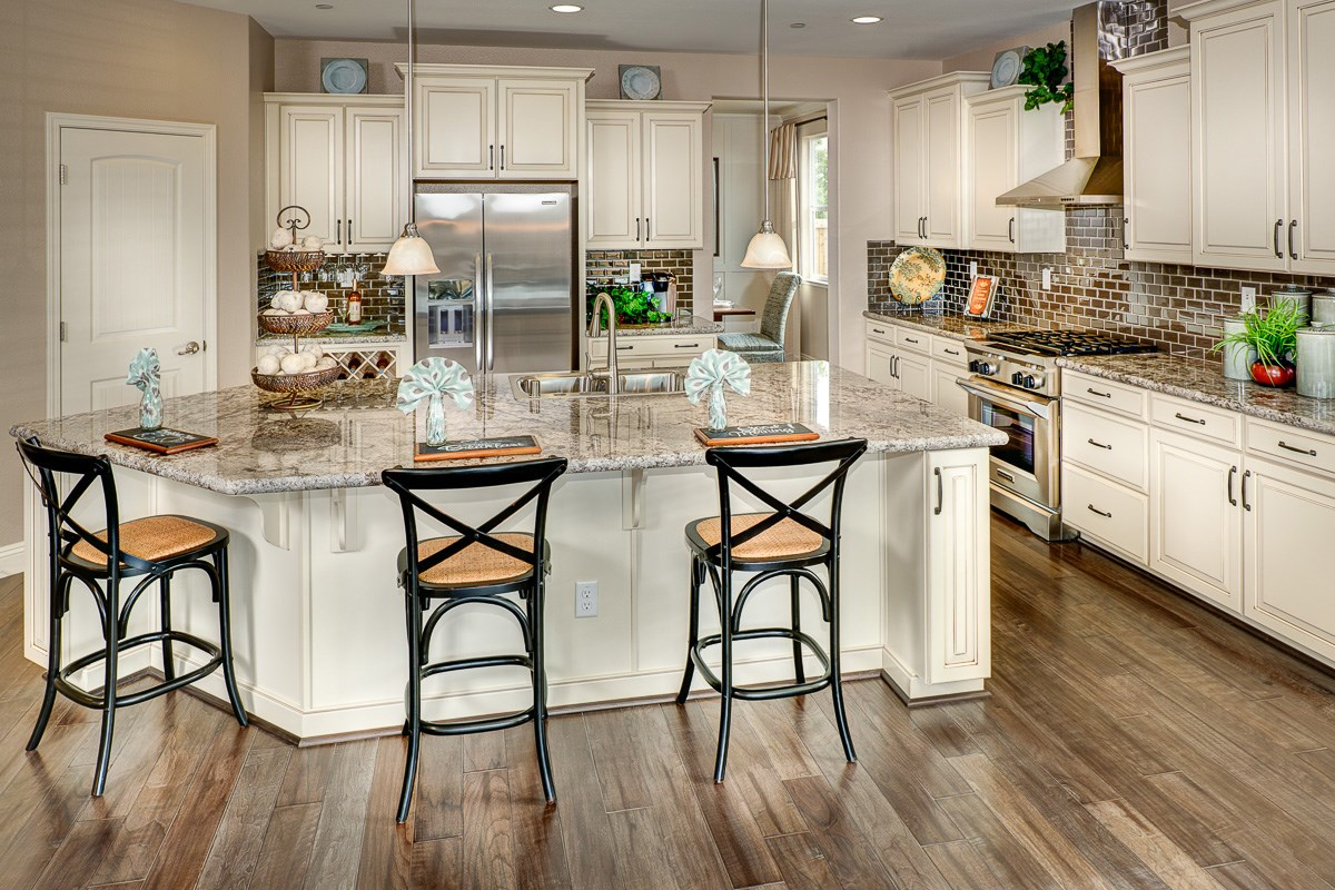 New Homes in Roseville, CA - Legato at WestPark Oliver Plan - Kitchen