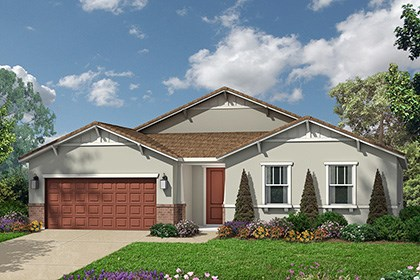 New Homes in Roseville, CA - Craftsman elevation