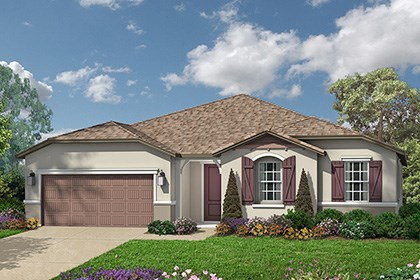 New Homes in Roseville, CA - Cottage elevation