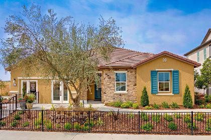 New Homes in Roseville, CA - The Oliver Tuscan elevation