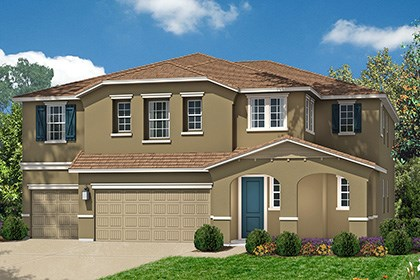 New Homes in Roseville, CA - The Mullins Cottage Elevation