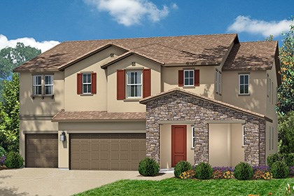New Homes in Roseville, CA - The Mullins Tuscan elevation