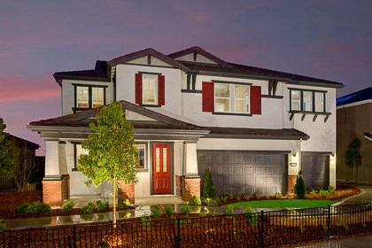 New Homes in Roseville, CA - The Mullins Craftsman elevation