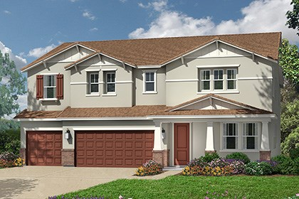 New Homes in Roseville, CA - Orlando Plus - Craftsman