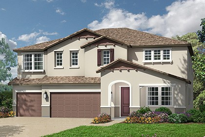 New Homes in Roseville, CA - The Orlando Cottage elevation