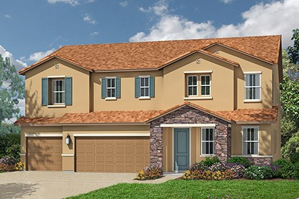 New Homes in Roseville, CA - The Orlando Tuscan elevation