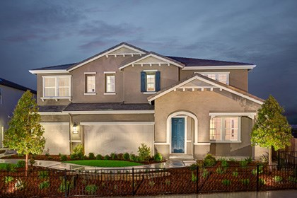 New Homes in Roseville, CA - The Orlando Craftsman elevation
