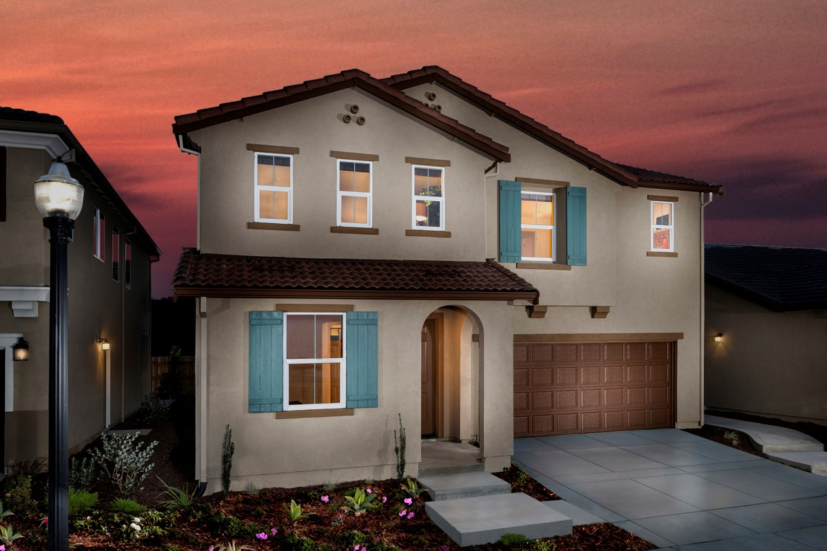 New Homes in Sacramento, CA - Montauk at The Hamptons Plan 2487