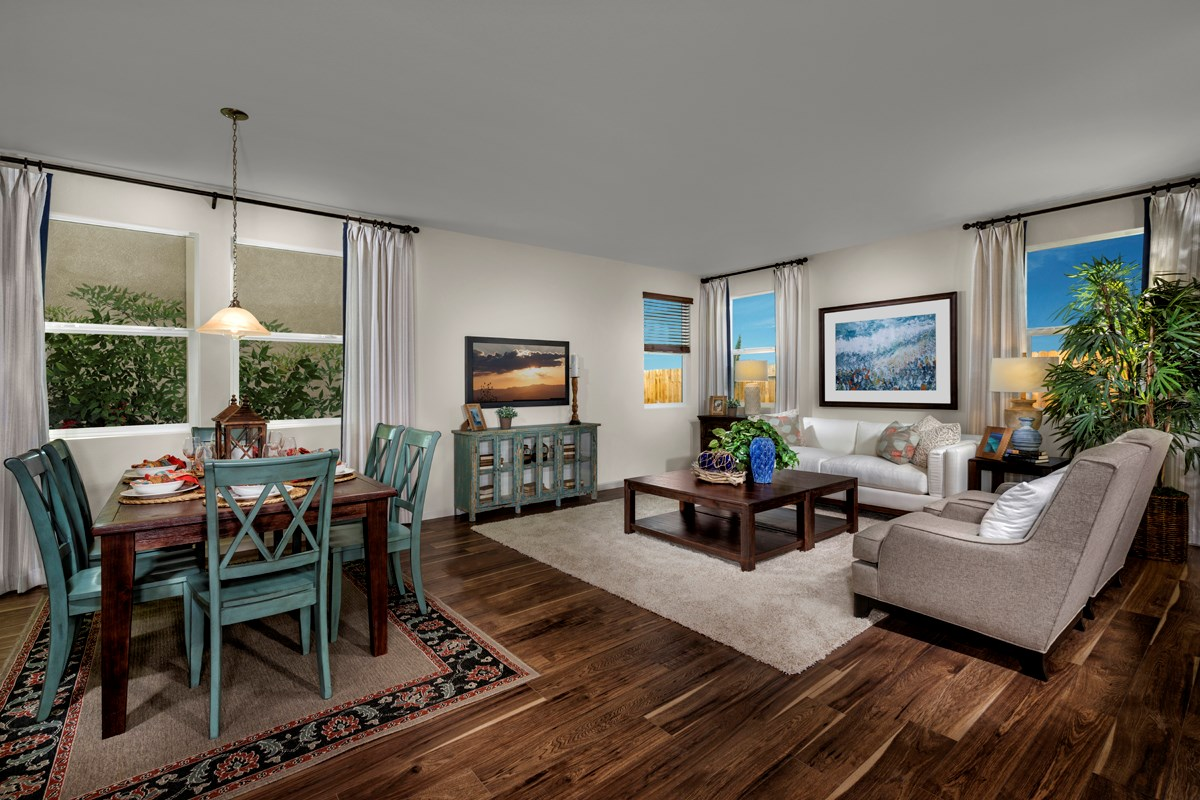 New Homes in Sacramento, CA - Montauk at The Hamptons Plan 2487 - Great Room