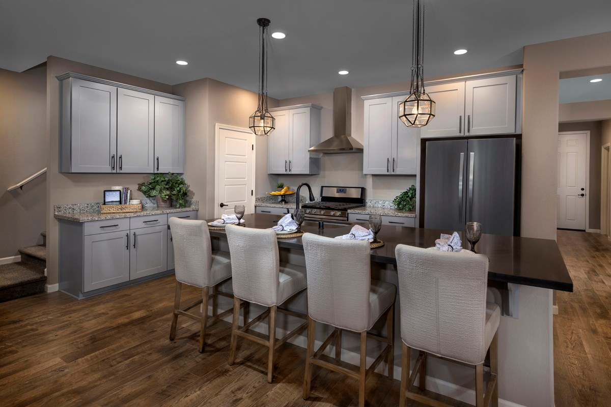 New Homes in Sacramento, CA - Montauk at The Hamptons Plan 4 - Kitchen
