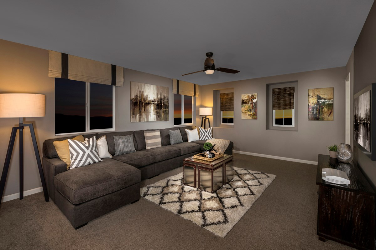New Homes in Sacramento, CA - Montauk at The Hamptons Plan 4 - Loft