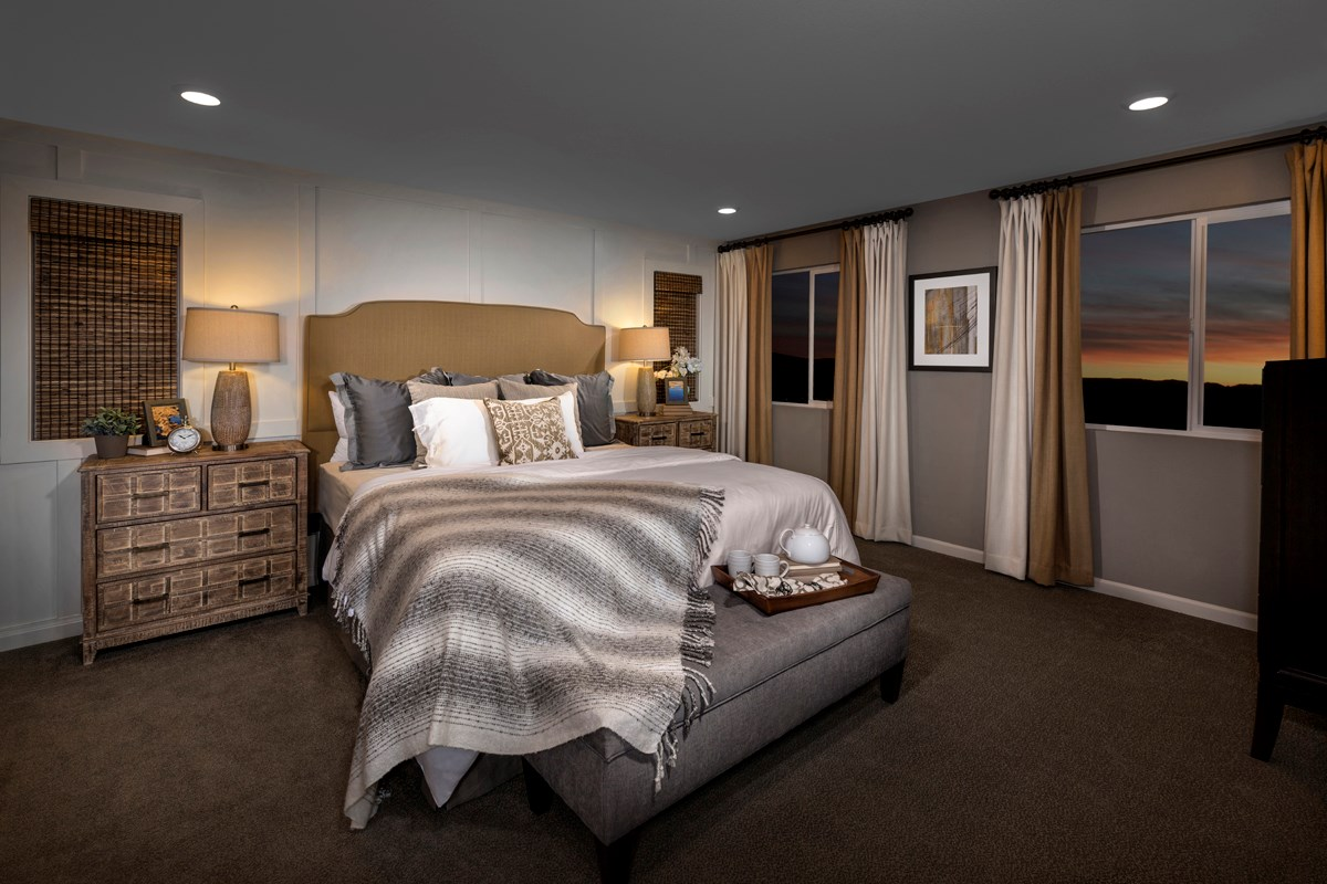 New Homes in Sacramento, CA - Montauk at The Hamptons Plan 4 - Master Bedroom