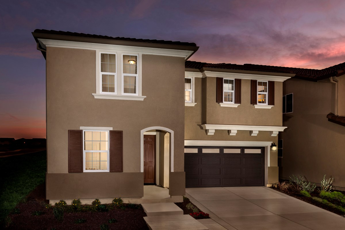 New Homes in Sacramento, CA - Montauk at The Hamptons Plan 4 - Italianate