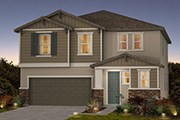 New Homes in Sacramento, CA - Montauk at The Hamptons Plan 2 - Craftsman Elevation (B)