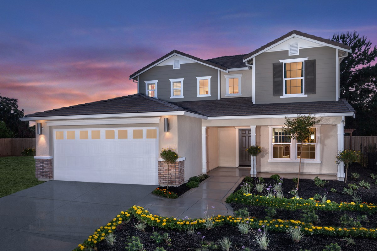 New Homes in Stockton, CA - Montego Plan 3 Exterior