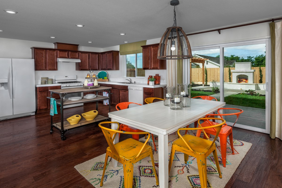 New Homes in Stockton, CA - Montego Plan 3 Kitchen