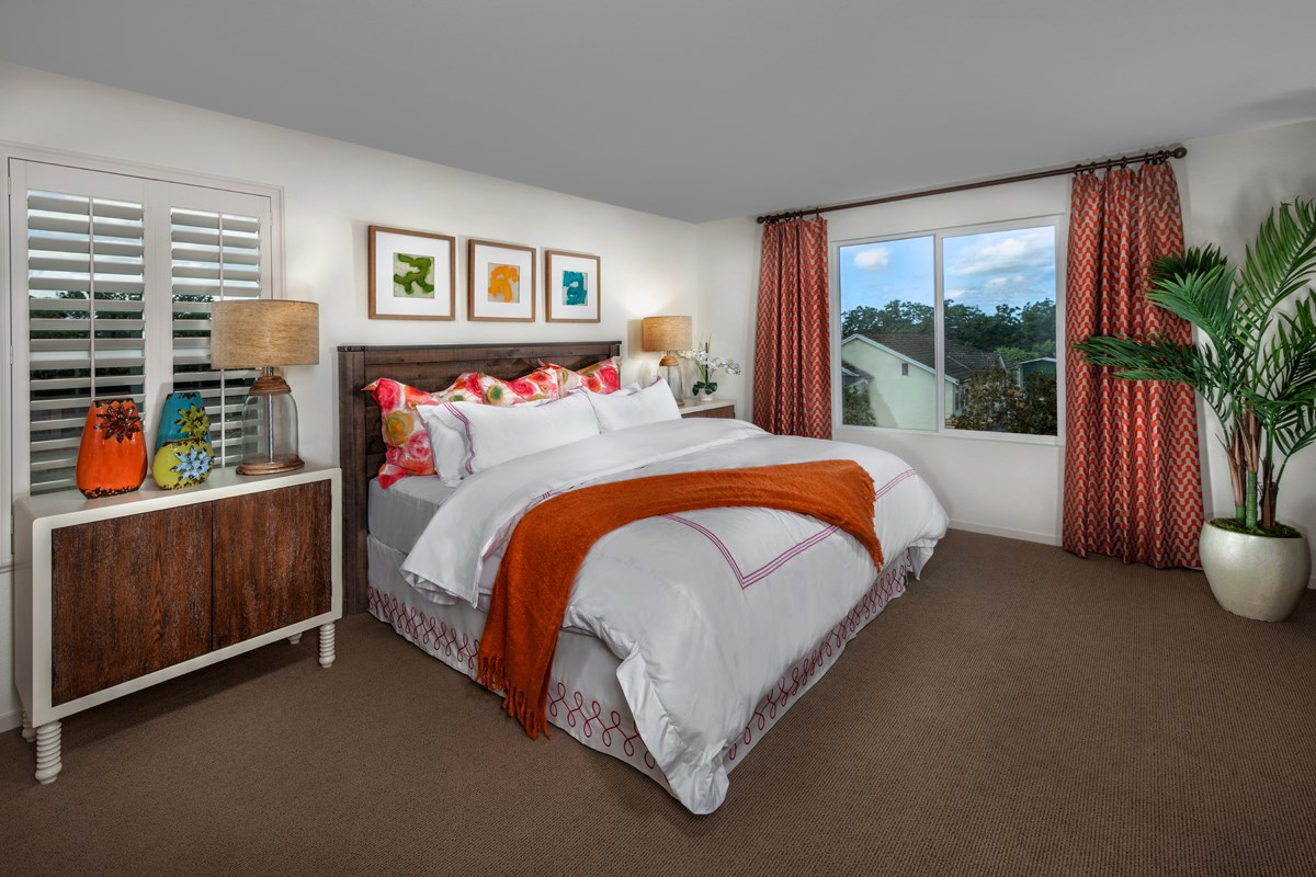 New Homes in Stockton, CA - Montego Plan 3 Master Bedroom