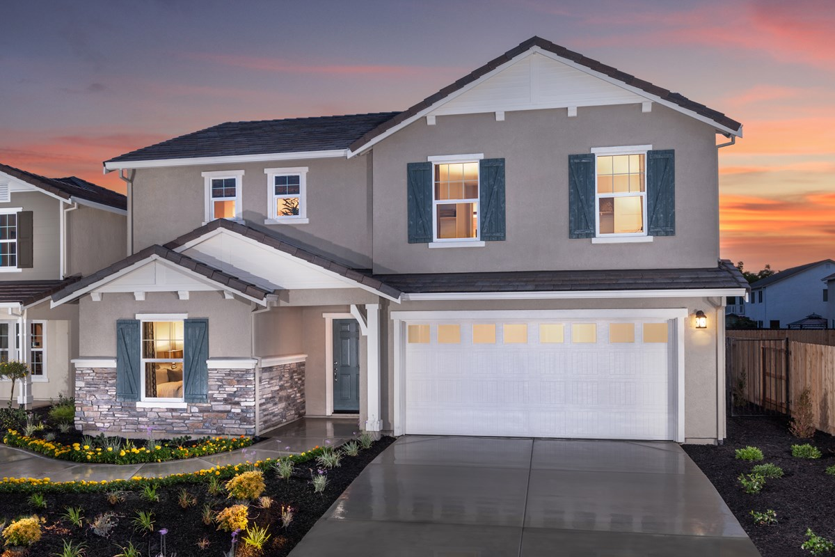 New Homes in Stockton, CA - Montego Plan 4 Exterior