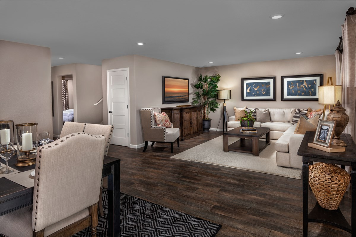 New Homes in Stockton, CA - Montego Plan 4 Great Room