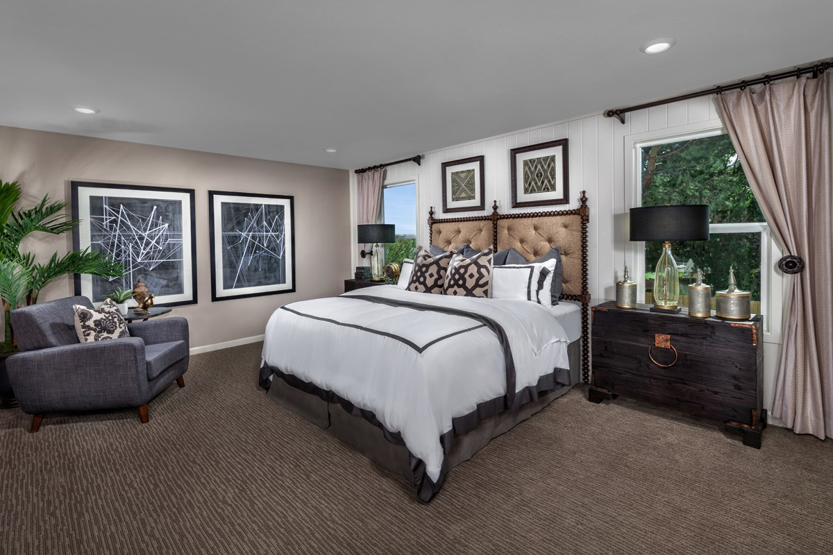 New Homes in Stockton, CA - Montego Plan 4 Master Bedroom