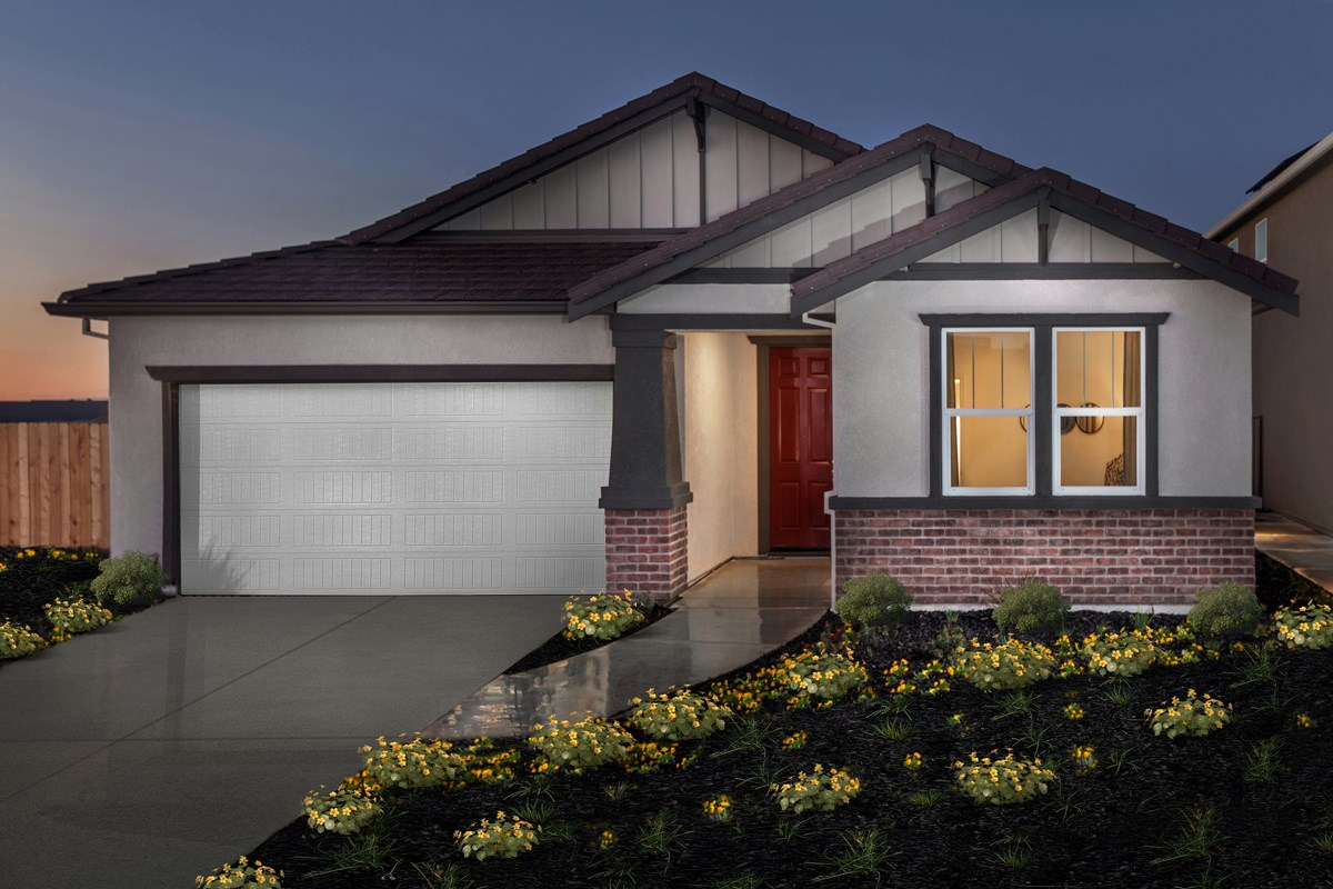 New Homes in Stockton, CA - Montevello Plan 2188 Exterior