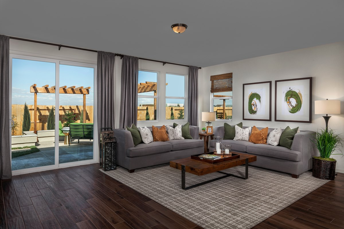 New Homes in Stockton, CA - Montevello Plan 2188 Great Room