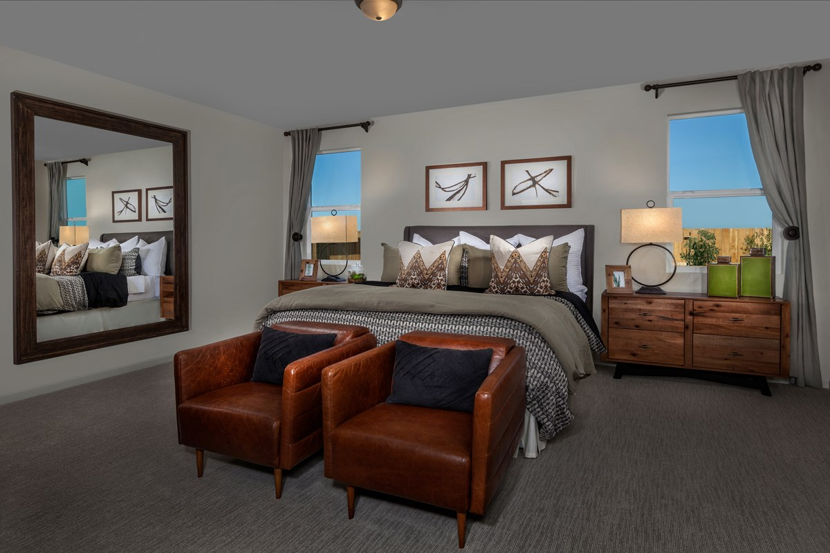 New Homes in Stockton, CA - Montevello Plan 2188 Master Bedroom