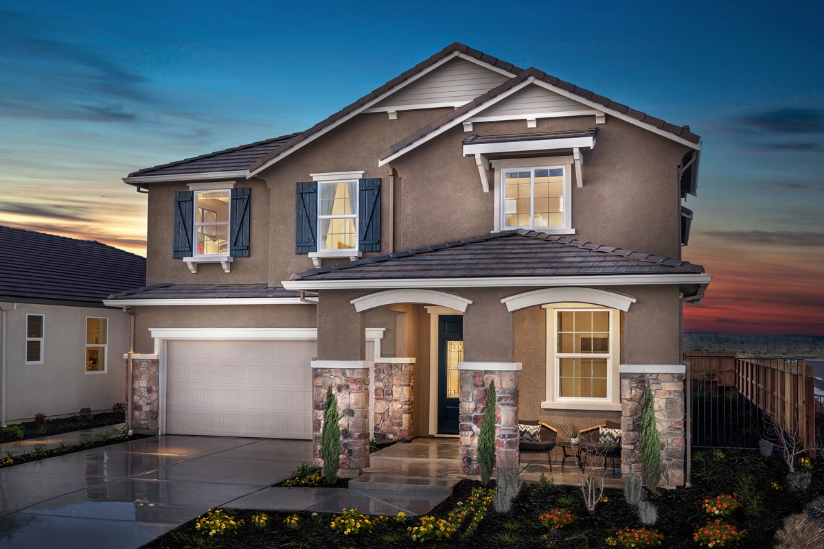 New Homes in Stockton, CA - Montevello Plan 3061 Exterior