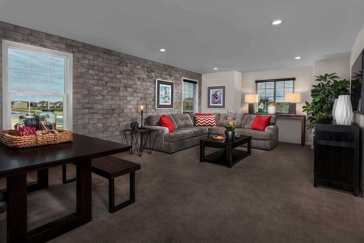 New Homes in Stockton, CA - Montevello Plan 3061 Loft