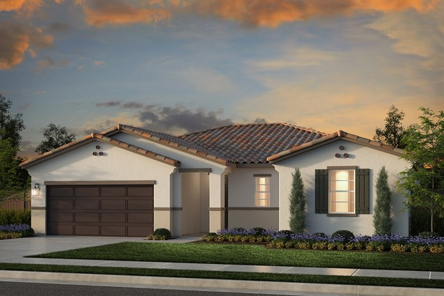 New Homes in Rocklin, CA - Plan 1860 - Spanish Elevation