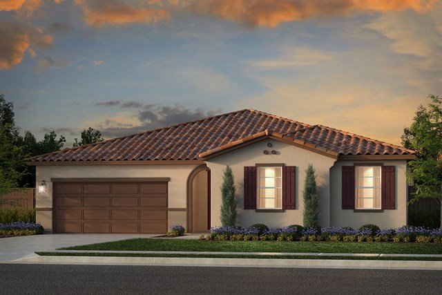 New Homes in Rocklin, CA - Plan 2105 - Spanish Elevation