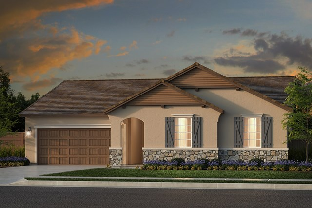 New Homes in Rocklin, CA - Plan 2105 - French Country Elevation