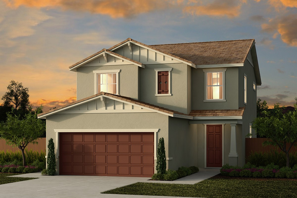 New Homes in Ceres, CA - Orchard Terrace Plan 1780 B