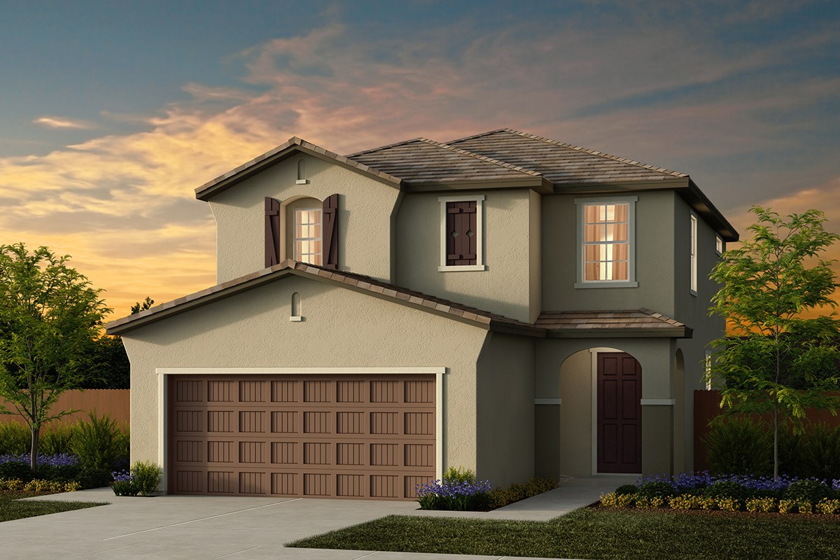 New Homes in Ceres, CA - Orchard Terrace Plan 1780 D