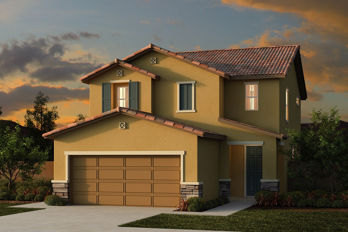 New Homes in Ceres, CA - Orchard Terrace Plan 1780 E