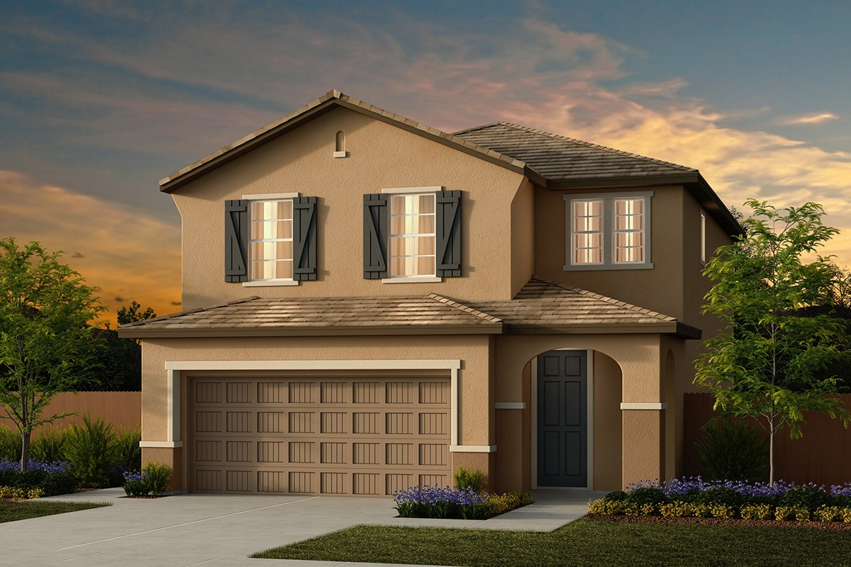New Homes in Ceres, CA - Orchard Terrace Plan 1896 D