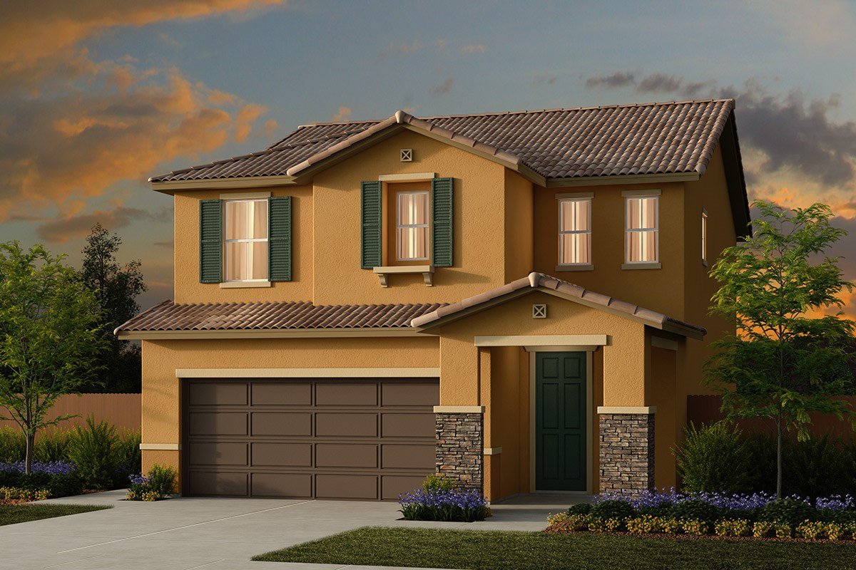 New Homes in Ceres, CA - Orchard Terrace Plan 1896 E