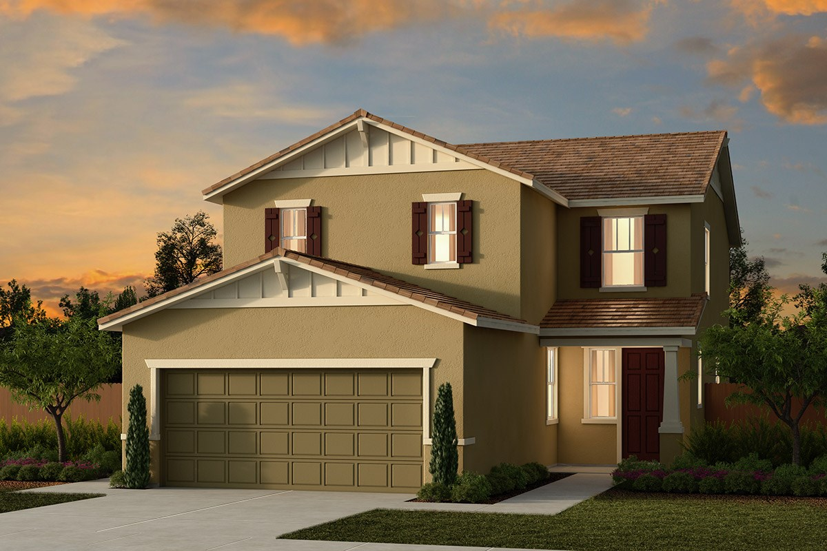 New Homes in Ceres, CA - Orchard Terrace Plan 2233 B