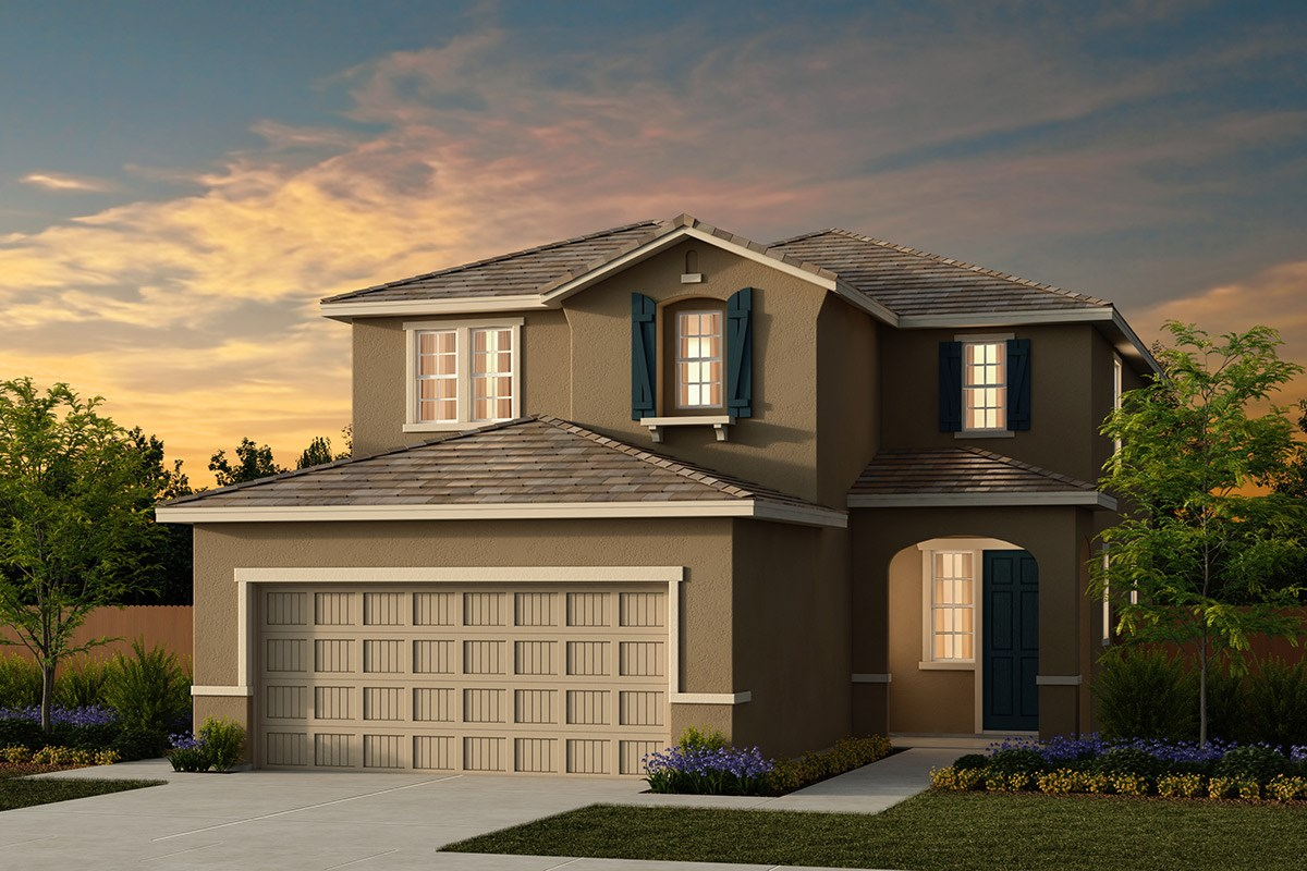 New Homes in Ceres, CA - Orchard Terrace Plan 2233 D