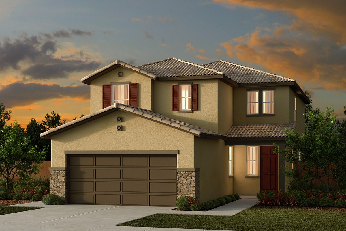 New Homes in Ceres, CA - Orchard Terrace Plan 2233 E