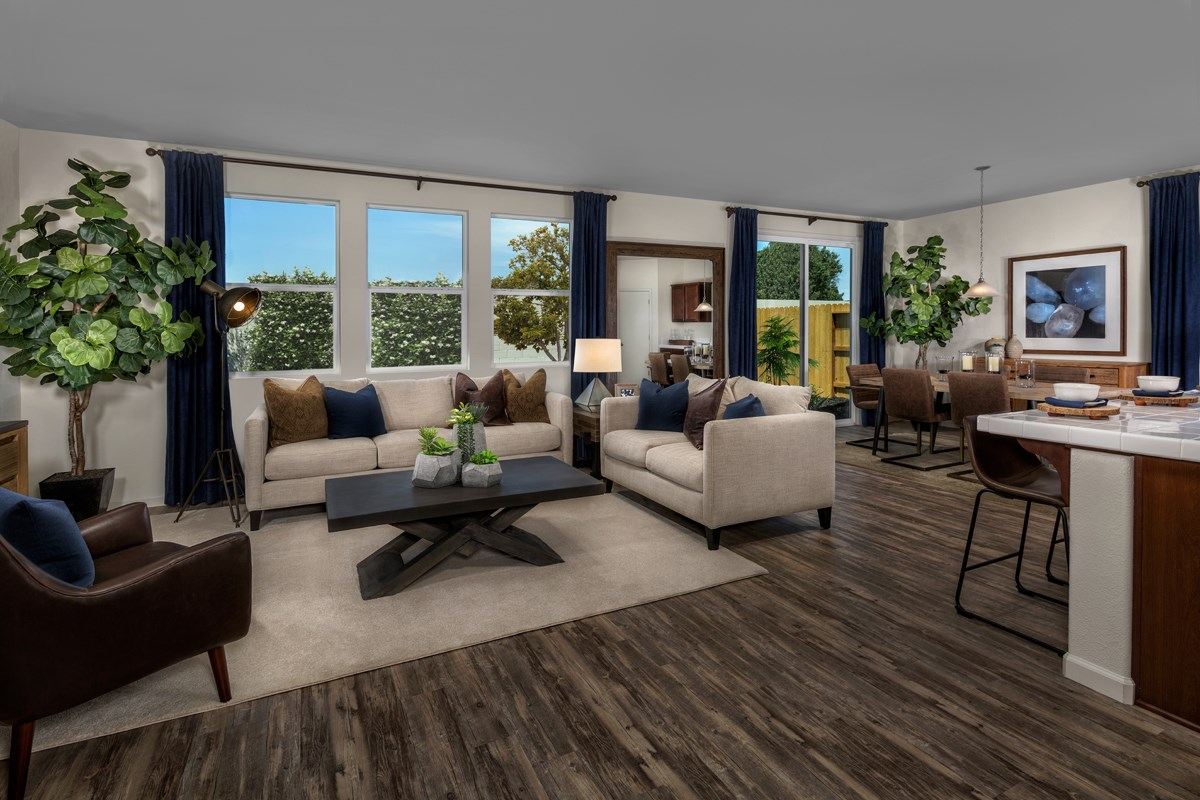 New Homes in Ceres, CA - Orchard Terrace Plan 1896 Great Room
