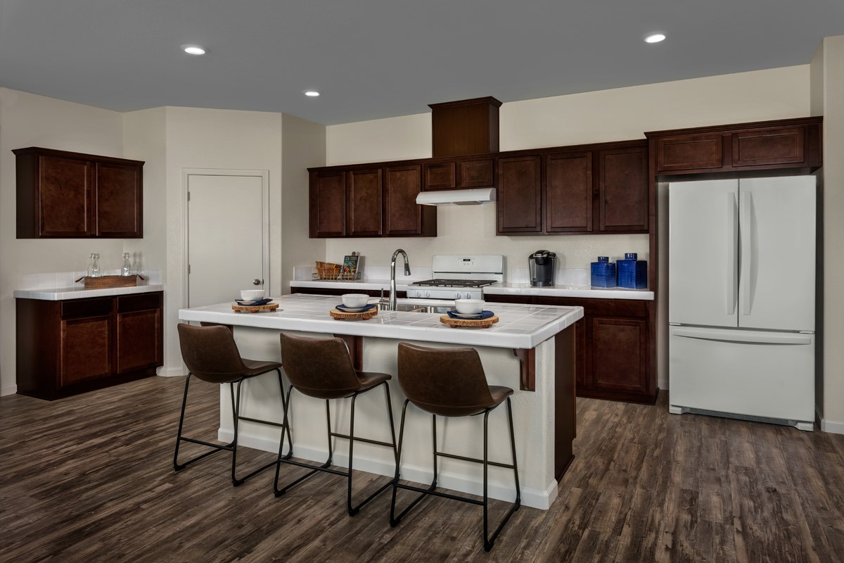 New Homes in Ceres, CA - Orchard Terrace Plan 1896 Kitchen